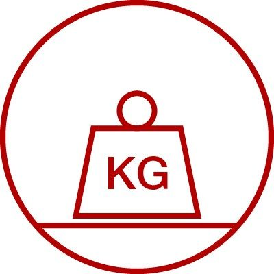 Icon for weight resistance, durability