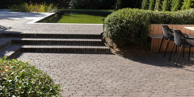 Reference photo private landscaping in Keerbergen