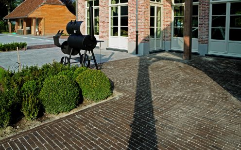Reference photo private landscaping in Sint-Martens-Latem